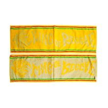 Set of 2 Lightweight Absorbent Hip-hop Sport Towels Yoga Towels,YELLOW