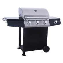 St Vincent 3+1 Burner Gas Barbecue