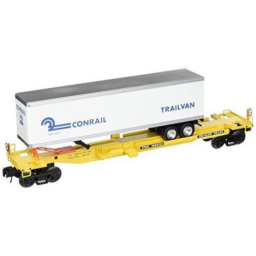 Bachmann Industries Front Runner Intermodal Car With Trailer Conrail O Scale Train