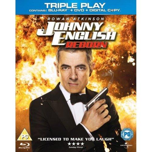 Johnny English Reborn - Triple Play (blu-ray, Dvd and Digital Copy)