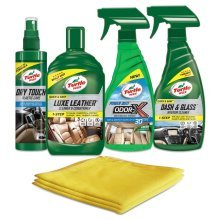 Turtle Wax Leather Cleaner, Restorer & Condition Interior Cleaning Kit