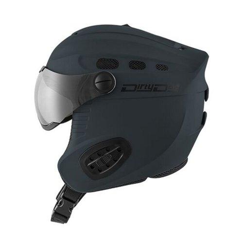 Dirty Dog Apache Helmet - Matt Dark Grey