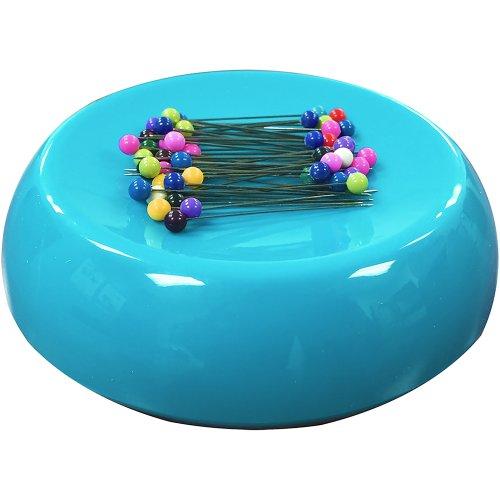 Grabbit Magnetic Pincushion W/50 Pins-Teal