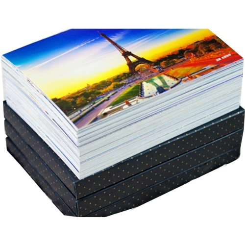 Pack of 100 Worldwide Attractions Postcards