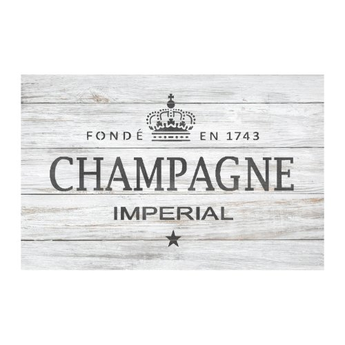 CHAMPAGNE  Furniture Wall Floor Stencil for Painting