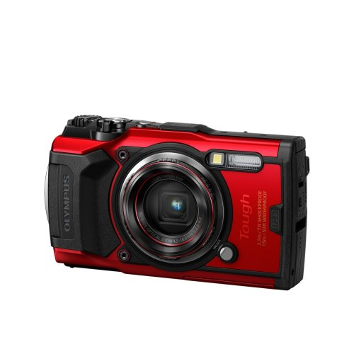 Olympus Tough TG-6 Compact Camera - Red | Underwater Digital Camera