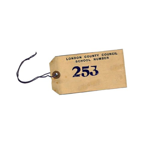 Evacuee Tag - World War 2 - Replica