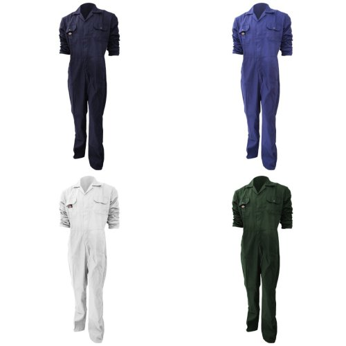 Dickies Redhawk Economy Stud Front Coverall Regular / Mens Workwear (Pack of 2)