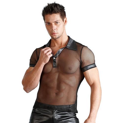 Men's shirt Wetlook XL Men's Lingerie Shirts - Svenjoyment Underwear