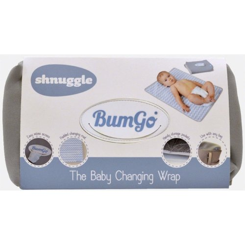 Shnuggle Bumgo Changing Wrap Grey