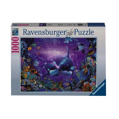 Ravensburger Magnificent Underwater World 1000pc Jigsaw Puzzle