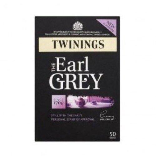 Twinings - Org Earl Grey Tea 50bag