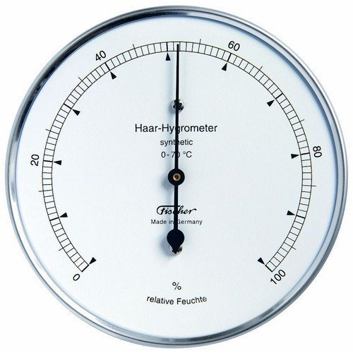 Fischer Hair Hygrometer Synthetic, Brass, Multi Colour, One Size