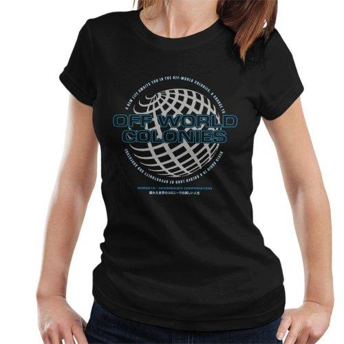Off World Colonies Blade Runner Women's T-Shirt