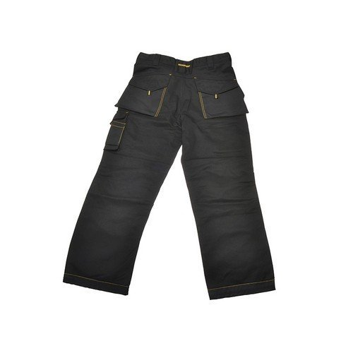 Roughneck Clothing 95-401 Black Holster Work Trouser Waist 30in Leg 31in