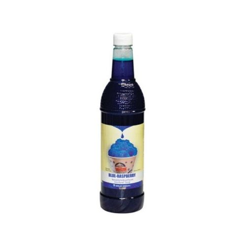 Sno-Kone 1425 25 oz Flavored Syrup  Blue Raspberry - pack of 12