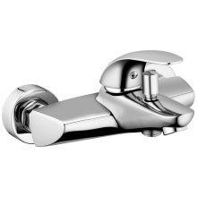 Fala Wall-Mounted Bath Tap Burgos Brass 75747