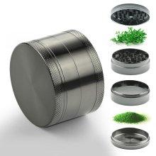 Home Inspira 6cm Magnetic Herb Grinder | Manual Spice Grinder