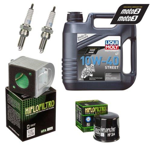 Service Kit Honda CB CBR 500 X FA RA Oil & Air filter Oil spark plug
