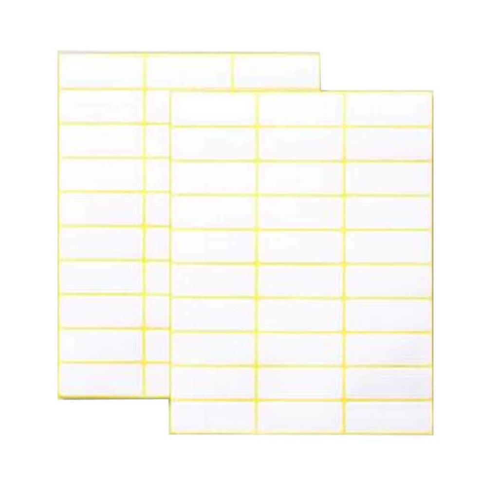 75 sheets label stickers 30 labels per sheet blank label stickers