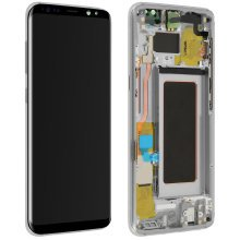LCD replacement part with touchscreen for Samsung Galaxy S8 – Silver