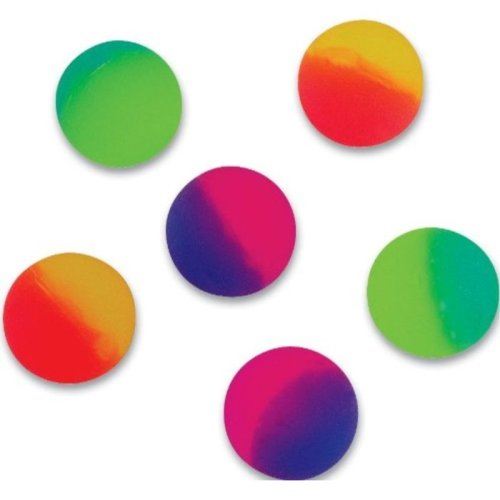 38mm Icy Ball Bouncy Balls 1 Dozen by SuperBouncyBalls.com