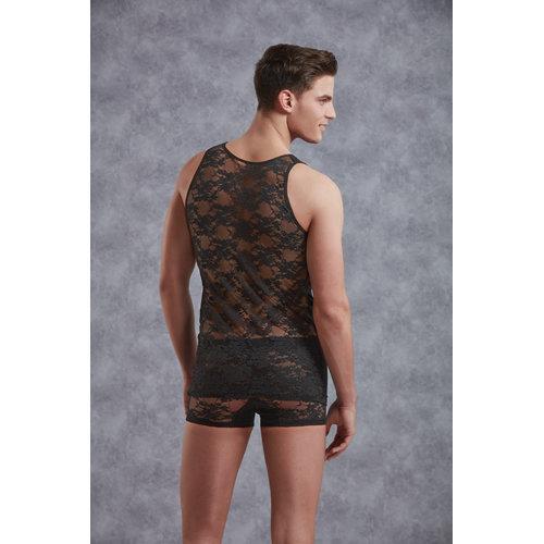 Doreanse Body Men - Black Medium Men's Lingerie Shirts - Doreanse