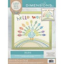 Dimensions Embroidery -Hello World