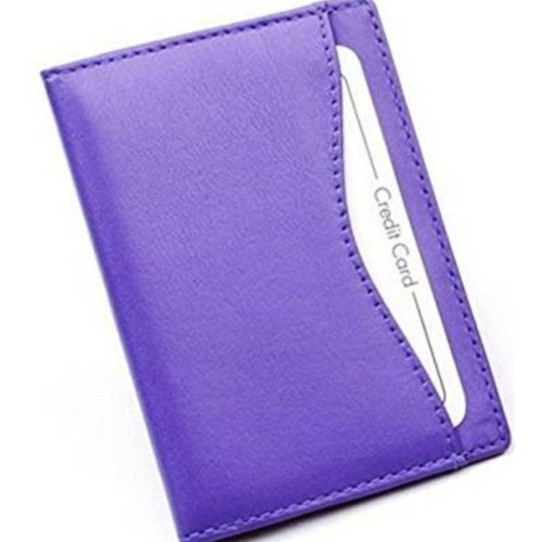 Soft Nappa Leather Travel Bus Oyster Pass Holder