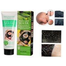 120ml Cucumber Black Mask Blackhead Peel-off Masks Mineral Facial Care Oil Control Acne Treatment