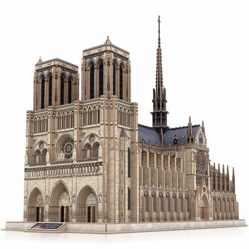 CubicFun 3D Model Kit Puzzle Game to Play for Fun Gift for Children and Adults (Large Notre Dame de Paris)