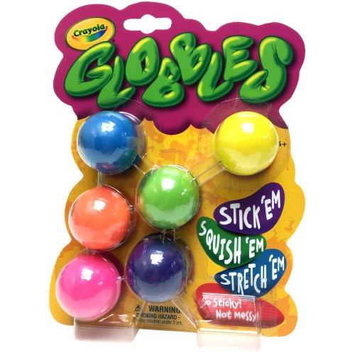 Crayola Globbles 6/Pkg-Assorted Colors
