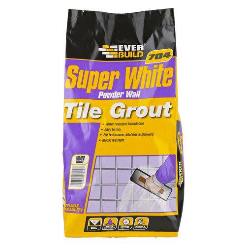 Everbuild 704 Powder Wall Tile Grout 3kg