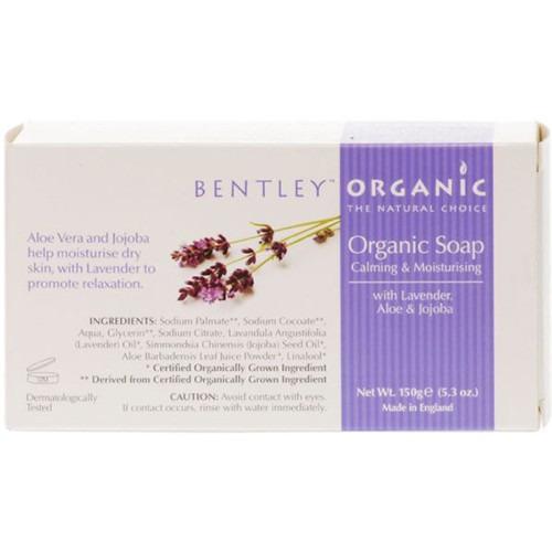 Bentley Organic Calming & Moisturising Bar Soap 150g