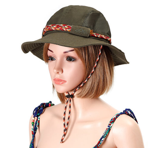 2d41cc64d7e Women Mens Foldable Mesh Breathable Bucket Hat Outdoor Travel Climbing  Sunscreen Fishing Hat on OnBuy