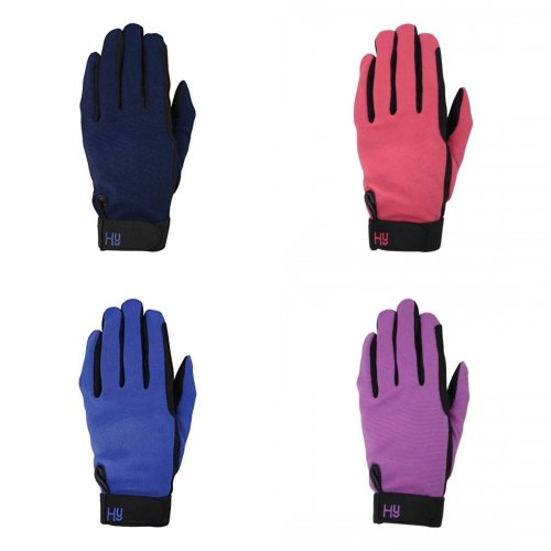 Hy5 Adults Universal Two Toned Riding Gloves
