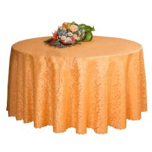 Weddings Banquets Hotels Tabletop Accessories Round Tablecloths 220x220CM (Golden)