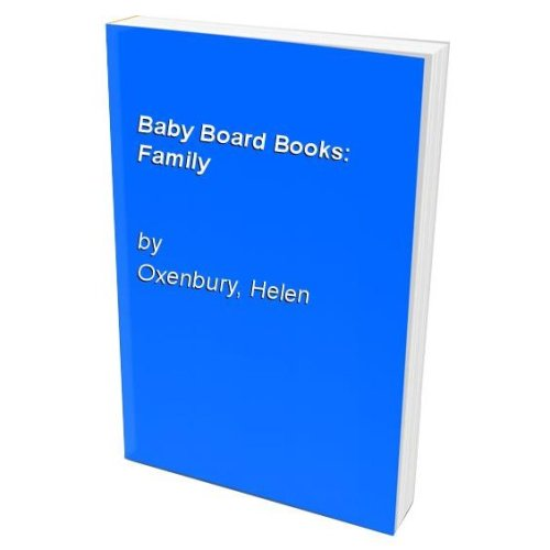 Baby Board Books: Family