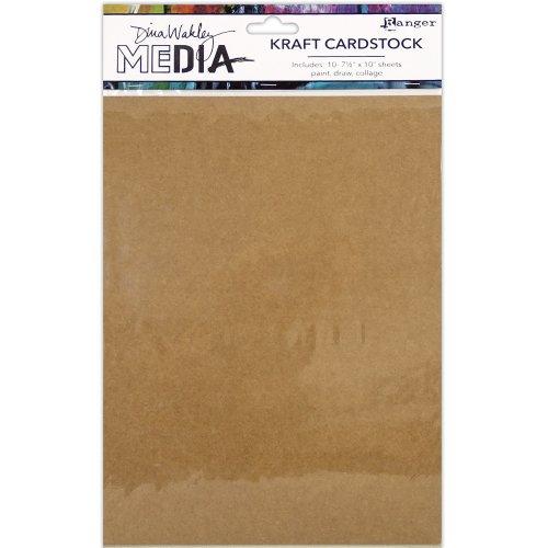10pk Dina Wakley Media Kraft Paper