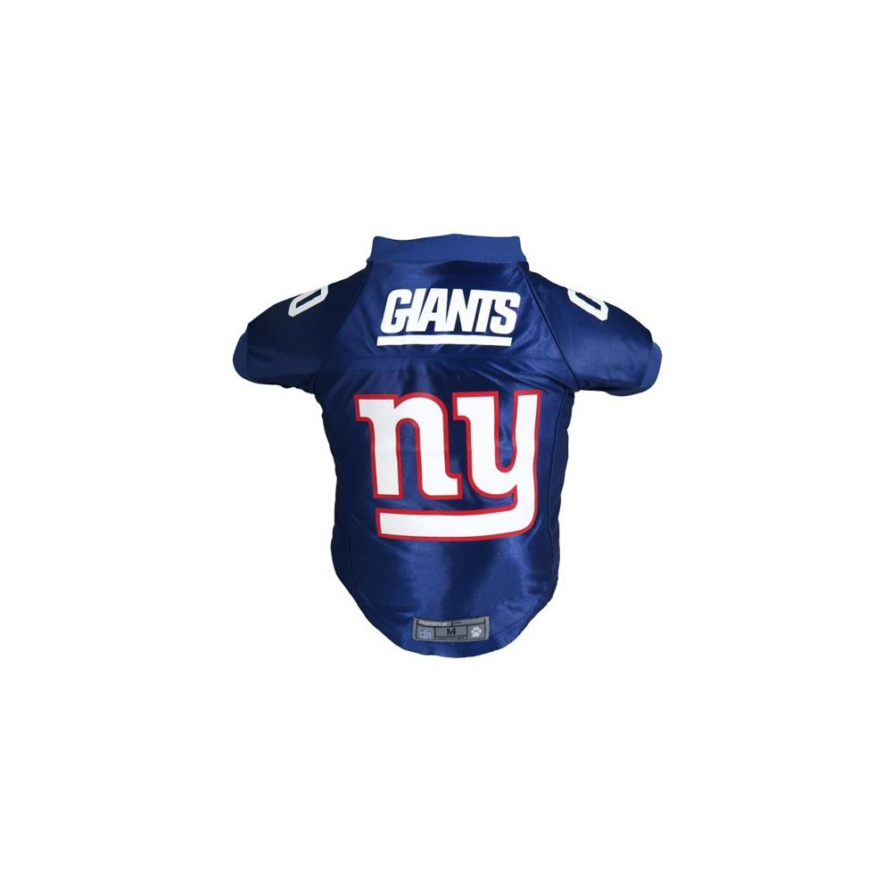official photos 512f9 07c0d Little Earth 320135-GIAN-S NFL Pet Premium Jersey, New York Giants - Small