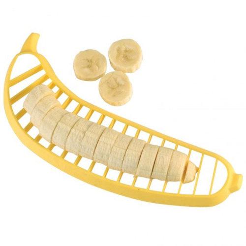 Banana Slicer Chopper Cutter for Fruit Salad Sundaes Cereal Kitchen Tools Kids