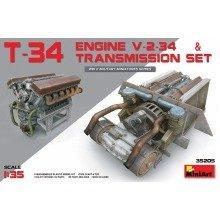 Min35205 - Miniart 1:35 - T-34 Engine & Transmission Set
