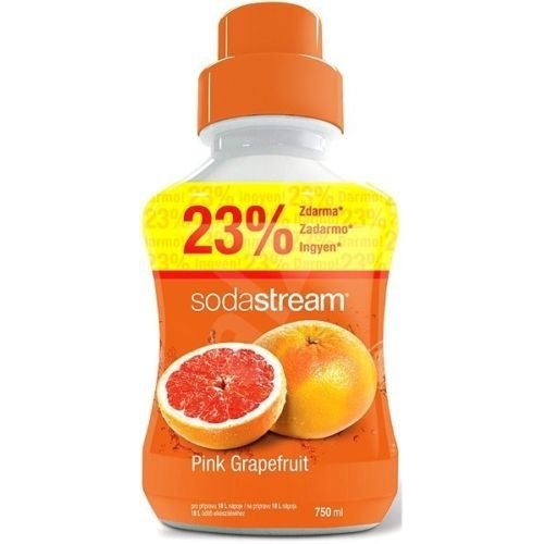 Sodastream Concentrate Syrup 750ml. Pink Grapefruit