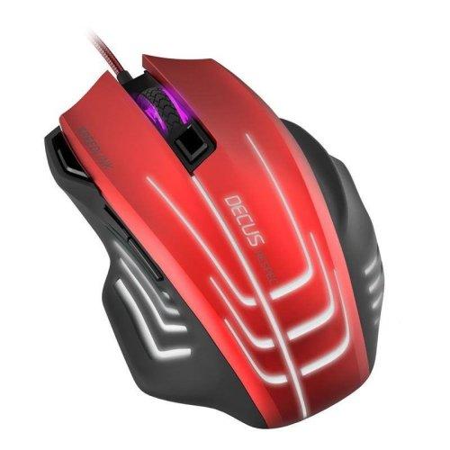 SpeedLink DECUS RESPEC Gaming Mouse - Red/Black (SL-680005-BKRD)