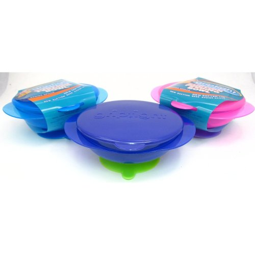 Griptight - Blue Suction Base Feeding Bowl