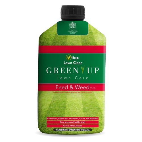Vitax 1L Green Up Liquid Lawn Feed and Weed