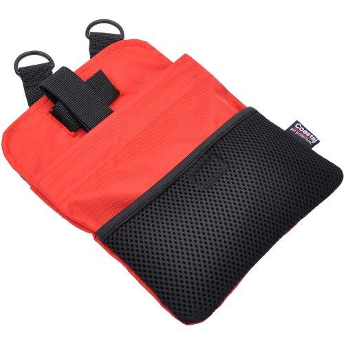 Coastal Multi-Function Treat Bag-Red