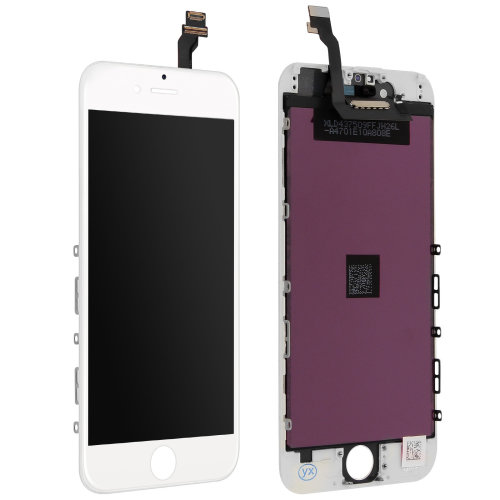 LCD replacement part with touchscreen for Apple iPhone 6 – White