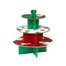 3-Tier Christmas Cake Stand