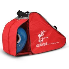 Children Roller Carry&Skate Bag Skate Sack Roller Skate Derdy Tote Red